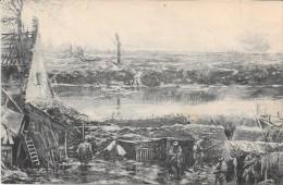 GUERRE 1914 - 1915 -   BELGIQUE - Panorama De La Bataille De L'Yser - DIXMUDE - ENCH33 - - Diksmuide