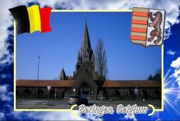 Postcard, Cities Of Europe Collection, Beringen, Belgium - Mapas