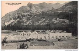 GRTL 0A2 : Vallée De Vicdessos, Auzat  Les Usines En Construction Et Village D´Olbier - Autres Communes
