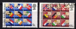 GB 1979 - Flaggen, Direktwahl Zum Europäischen Parlament - Used - Briefmarken