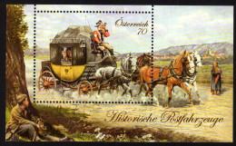 ÖSTERREICH 2013 ** Postkutsche Mit Reisenden / Historische Postfahrzeuge - MNH - Post