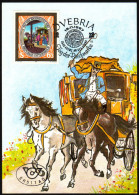 ÖSTERREICH 1987 - Postkutsche / Tag Der Briefmarke - Maximumkarte MC - Post