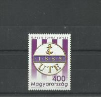 122.Hungary 2015 The Sports Club Újpest TE Is 130 Years Old MNH - Unused Stamps