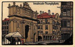[DC4701] CARTOLINA - AUSTRIA - INNSBRUCK TRIUMPHPFORTE - PERFETTA - Non Viaggiata - Old Postcard - Austria