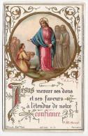 Image Pieuse Jesus Mesure Ses Dons  Bonamy Association De St Laurian Vatan Indre 36 - Santini