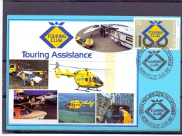 België - Touring Club - Union Philatélique Gillycienne - Gilly 11/2/95  (RM9435) - Hubschrauber
