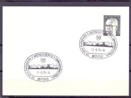 Deutsche Bundespost - 125 Jahre geologische Landesaufnahme in Bayern - M�nchen 17/9/75 (RM9472)