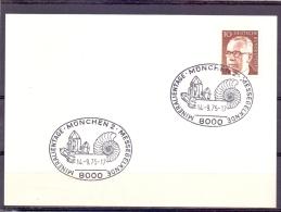 Deutsche Bundespost - Mineralentage - Messegel�nde - M�nchen 149/75 (RM9473