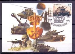 België  - Feest Van Het Park - Brussel 20/7/1999  (RM9561) - Militaria