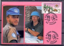 België - De Belgsche Strijdkrachten -  VN Operaties - Leopoldsburg 17/4/94 (RM9572) - VN