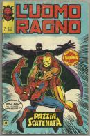 L'UOMO RAGNO PAZZIA SCATENATA N. 211 -- 31 MAGGIO 1978 - Spiderman