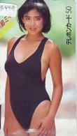 Télécarte Japon EROTIQUE (5449) EROTIC * Japan * ACTRESS  *  BIKINI  GIRL * BATHCLOTHES  * FEMME * SEXY LADY - Fashion