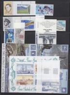 TAAF 2001 Yearset Complete 11v + 2 M/s ** Mnh (22785) - Volledig Jaar