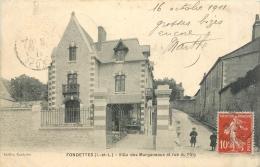 D 37 - FONDETTES - Villa Des Marganeaux Et Rue Du Paty - 733 A - Fondettes