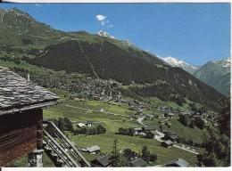 VERBIER (Suisse-Valais) Vue Générale Du Village Et De La Station - VOIR 2 SCANS - - VS Valais