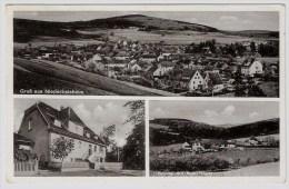 """Ca. 1940, """" Gruß Aus Niederbeisheim """"   #2349 - Unclassified"""