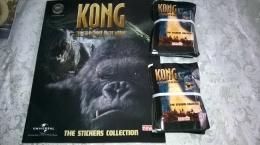Kong,album Vuoto+50 Bustine Chiuse Con Figurine,newlinks 2006 - Vignettes Autocollantes