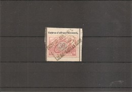 "Belgique -Nord Belge( TR 35 Sur Fragment à Oblitération ""NORD BELGE-LIEGE-GUILLEMINS) - Bahnwesen"