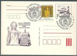 1859 Hungary SPM Stamp Day Philately History Stephan King Unaddressed