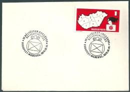 1864 Hungary SPM Stamp Philately Exhibition Addressed