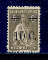 ! ! Portugal - 1928 Ceres W/OVP 10 C - Af. 458 - MVLH - 1910 - ... Repubblica