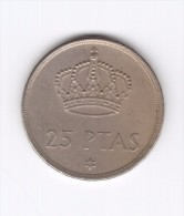 25 Pesetas 1975 (Id-202) - 25 Pesetas