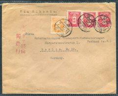 1932 Japan Thomas Schmidt, Kobe Cover - Berlin, Germany - Storia Postale