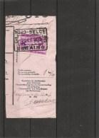 """Belgique -Nord Belge ( TR 203 Sur Fragment à Oblitération """"NORD BELGE -SERAING 3 """") - Bahnwesen"""