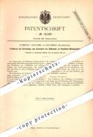 Original Patent - Edmond Antoine à Fourmies , 1881 , Dispositif Pour Machines à Coudre !!! - Fourmies