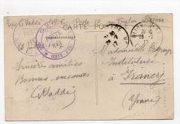 Cachet G.V.C  Secteur Dijon Poste 10 Au Foulon - Poststempel (Briefe)