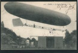 AVIATION - DIRIGEABLES - PARIS - Le SANTOS DUMONT - Airships