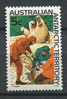 (cl. 8 - P21) Antarctique Australien ** N° 11 (ref. Michel Au Dos) - Marquage Des Phoques - - Australian Antarctic Territory (AAT)