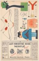 Découpage  NESTLE - Le Lait Concentré Sucré - Publicités