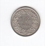 1 Franc Franco 1986 (Id-133) - Suiza