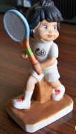 1 PERSONNAGE TENNISMAN N° 6 FAIENCE NEUF SPORTS BILLY PRODUCTIONS 1981 TF1 VU A LA TELEVISION - NOTRE SITE Serbon63 - Other