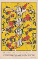 Découpage Puzzle - 4 Tips  -  Nestlé - Publicités