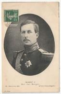 ALBERT 1er Roi Des Belges - Case Reali