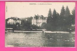 D88. CHATEL-SUR-MOSELLE. LA MOSELLE ET LES CHATEAUX. - Chatel Sur Moselle