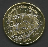 Czech Republic, Karlovy Vary, Lanova Draha Diana, Souvenir Jeton - Tokens & Medals