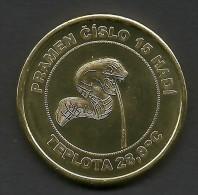 Czech Republic, Karlovy Vary, Sadova Kolonada, Snake, Souvenir Jeton - Autres