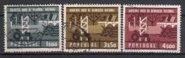 PORTUGAL - Michel - 1966 - Nr 1003/05 - Gest/Obl/Us - 1910-... République