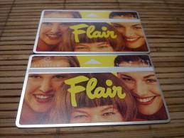 2 Private Cards Flair (Mint,Neuve) 2 x 431B