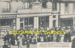 44 // NANTES  Jeudi 29 Octobre 1908, Inauguration Du Magasin Des Primes, DOCKS DE L OUEST - Nantes