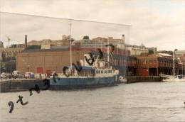 """Photo Bateau Navire Identifié Le """" Lochiel  """" Bristol 1939 Dumberton  Marine Marchande Passagers - Schiffe"""