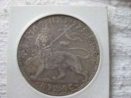 Ethiopie: 1 Birr Menelik 1895 EE = 1903 - Ethiopie