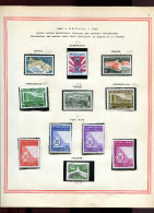 UNESCO  1958 - Timbres Neufs ** Lot 0128 - Timbres