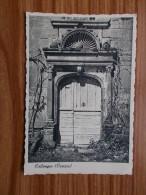 COLLONGE   Porte à Coquille  Carte Années 40,50 - Other Municipalities