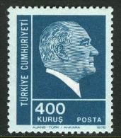 TURKEY 1976 (**) - Mi. 2383, ATATÜRK Regular Issue Stamp - 1921-... République