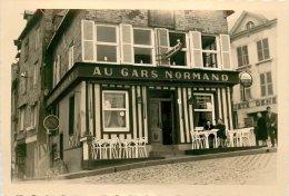 LOT DE 3 PHOTOS SUR HONFLEUR DONT HOTEL DE FRANCE ET AU GARS NORMAND - Lieux