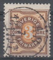 D1878 - Sweden Mi.Nr. 52 O/used - Suède